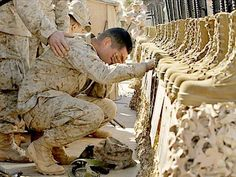 The sacrifice is necessary, but oh, so incredibly difficult! God Bless the United States military men, women and families!