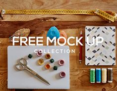 """Check out new work on my @Behance portfolio: """"Free stationery mock ups II""""…"""