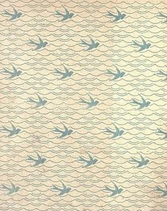 #bird #book #endpapers