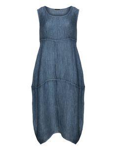 Silk linen crinkle dress by Grizas. Shop now: http://www.navabi.co.uk/dresses-grizas-silk-linen-crinkle-dress-dark-blue-23871-0700.html?utm_source=pinterest&utm_medium=social-media&utm_campaign=pin-it