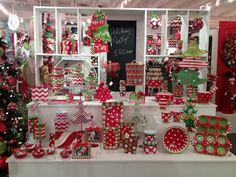 Christmas Display from our Dallas Showroom @Dallas Market Summer 2013! #burtonandburton #Christmas