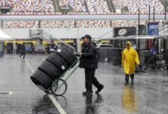 NASCAR Sprint Cup race postponed until Sunday because of Hurricane Matthew  -  October 8, 2016