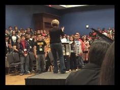 """I Am in Need of Music"" (piano acc.) - 2009 Texas All-State Mixed Choir Rehearsal - YouTube"