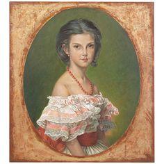 John Richard Renaud Winterhalter Portrait De La Princess Artwork