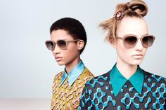 Prada Fall/Winter 2015 Eyewear Campaign #SelectSpecs