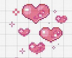 ru / Foto n º 81 - 1 - irisha-ira Cat Cross Stitches, Cross Stitching, Cross Stitch Embroidery, Cross Stitch Patterns, Loom Patterns, Cross Stitch Boards, Cross Stitch Heart, Hand Embroidery Patterns, Stitch Design