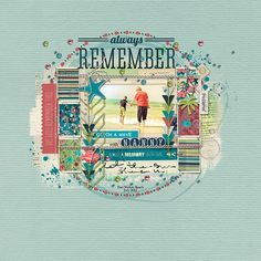 #papercraft #Scrapbook #layout    Always