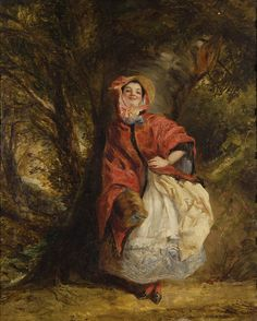 https://flic.kr/p/eEqfik | Frith, William Powell - Dolly Varden. 1843