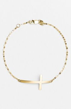 Lana Jewelry Cross Station Bracelet