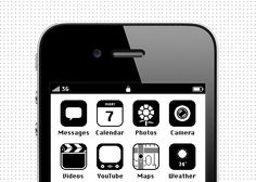 iOS '86: The Macintosh iPhone by Anton Repponen | Inspiration Grid | Design Inspiration