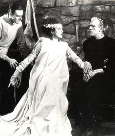 Bride of Frankenstein (1935 film, starring Boris Karloff, Colin Clive and Elsa Lanchester)