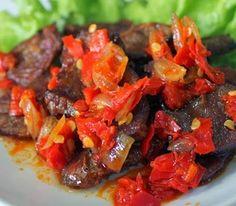 resep daging sapi balado spesial mudah