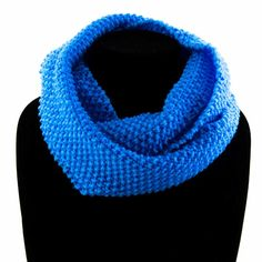 Loving this Cornflower coloured snood! Cowls, Winter Outfits, Infinity, Scarves, Warm, Clothing, Handmade, Fashion, Scarfs