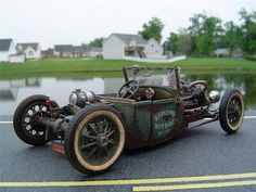 Freaking cool Rat Rod (yes Please!)