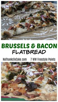 Brussels and Bacon Flatbread