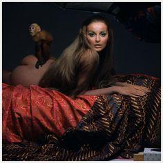 1967 Photo Gianni Penati Model Samantha Jones