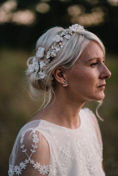 Un mariage Boho en bleu - A découvrir sur le blog mariage www.lamarieeauxpiedsnus.com - Photos : Chloé Lapeyssonnie - la mariee aux pieds nus