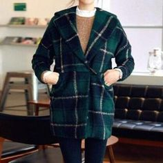 Buy 'Flower Creek – Toggle Plaid Coat' with Free International Shipping at YesStyle.com. Browse and shop for thousands of Asian fashion items from China and more!