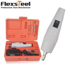 Mini Coldless Electric Power Grinding Drill with Rechargeable Chucks Electric Carving Chisel Drill Set