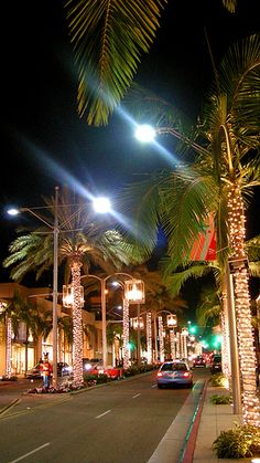 ~Rodeo Drive, Beverly Hills, California~