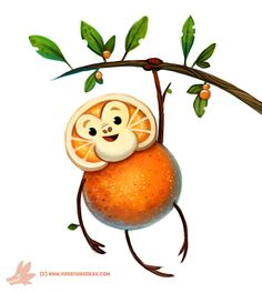 Daily Paint #1146. Orangeutan, Piper Thibodeau on ArtStation at https://www.artstation.com/artwork/POvDy