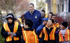 "We love hearing stories like this one - Washington Governor Jay Inslee has joined the Walking School Bus ""bandwagon!"""