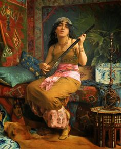 Nasli (jouant De Le Guitare) Artwork By Theodoros Ralli Oil Painting & Art Prints On Canvas For Sale Renoir, Canvas Art Prints, Oil On Canvas, Jean Leon, Empire Ottoman, European Paintings, Greek Art, Traditional Paintings, Magazine Art