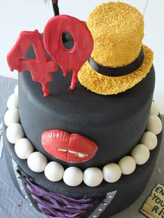Rocky Horror Picture Show 40th Birthday Celebration Cake
