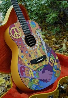 Maybe I could do this to my guitar since I haven't figured out how to play it...it would look cool anyway.