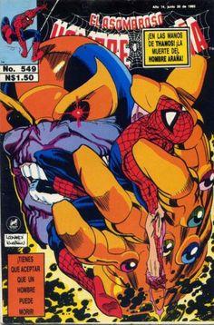 Cover for El Asombroso Hombre Araña (Novedades 1980 serie) #549 - Fevrier 1993