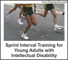 Pin #3 - Intellectual Disability - sprint training training for young adults with ID - This is a article about a research of sprint interval training for people with intellectual disability. I found that it is interesting that   these young adults with this disability can do this type of training. I think it is a great idea to use in the physical educational setting with kids who have intellectual disabilities to improve their body composition, physical and metabolic fitness as well.