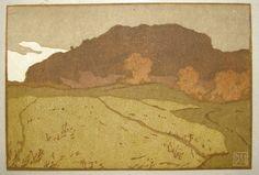 Landscape Art, Wood Print, Acrylics, Printmaking, Concept Art, Landscapes, Colors, Illustration, Prints