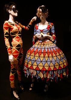 Mum, Vivienne Westwood Harlequin Designs...You like?