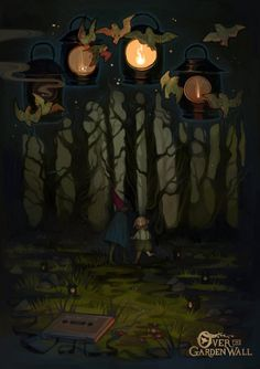 over the gardewn wall | poster by Zanamie.deviantart.com on @DeviantArt
