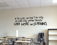 In this #class we don't do easy!