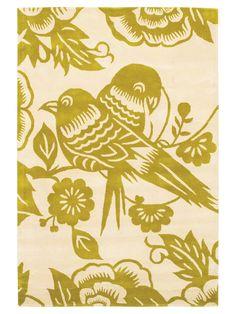 Chandra  Love Birds Hand-Tufted Rug