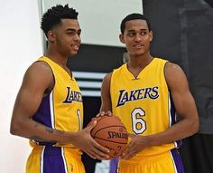 Lakers' D'Angelo Russell, Jordan Clarkson forming close bond