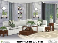 Create your own comfort sofa with this modular modern set. You can easely mix and match the pillows. You can also use them on other chairs and sofa's. Make sure that your game is fully patched and...
