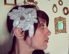 Unconventional headpieces di OnceACrown su Etsy Headpieces, Crowns, Gypsy, Barbie, Earrings, Beautiful, Jewelry, Fashion, Ear Rings