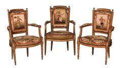 El mobiliario francés tanto época como estilo Luis XVI está teniendo muy buena…
