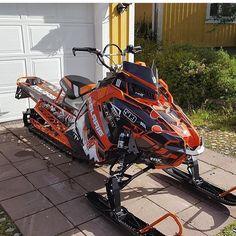 Snowmobile vintage maine