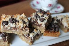 Bridget's Nirvana Bars - The Vegan Project #vegan #dairyfree #glutenfree #desserts
