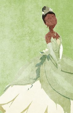 Princess and the Frog inspired design.