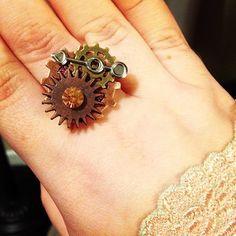 #diy #steampunk #jewelry