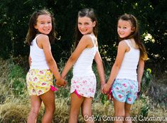 Too Cute Ruched Shorts Pattern sizes 28 by ColesCreations on Etsy, $6.95