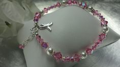 Pink Wish Breast Cancer Awareness by PreciousTemptations on Etsy