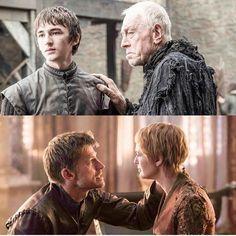 Bran and three eyes crow and Jaime and Cersei reunited  #gameofthrones#gotseason5#gotseason6#got#grrm#asoiaf#stark#lannister#baratheon#targaryen#direwolves#dragons#tyrionlannister#peterdinklage #daenerystargaryen #emiliaclarke #jonsnow#kitharrington#aryastark#maisiewilliams #sansastark#sophieturner#deadpool#ryanrenolds#ironthrone