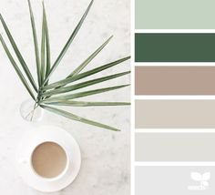today's inspiration image for { color serve } is by . thank you, Myla, for another wonderful image share!Explore Design Seeds color palettes by collection.Your daily dose of inspiration . for all who love color. Bedroom Colour Palette, Green Colour Palette, Green Colors, Colours, Green Pallete, Nature Color Palette, Bedroom Colors, Design Seeds, Living Room Color Schemes