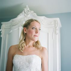 Pretty Quaint Country Marquee Wedding Natural Bride Hair Make Up http://jamesandlianne.com/