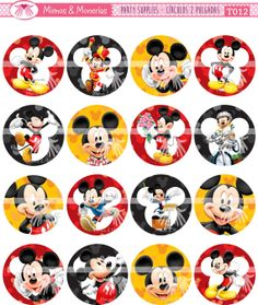 Items similar to 16 mickey mouse clubhouse Birthday Cupcake Cake Cookie Edible Uncut Topper Image Decoration Decal Wafer Sheet 2207 on Etsy Birthday Cupcakes, 2nd Birthday, Birthday Parties, Cupcake Toppers, Cupcake Cakes, Mickey Mouse Clubhouse Birthday, Digital Collage, Collage Sheet, Party Printables